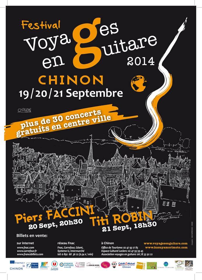 Festival voyage en guitare et concert dans la cavemonplaisir chinon