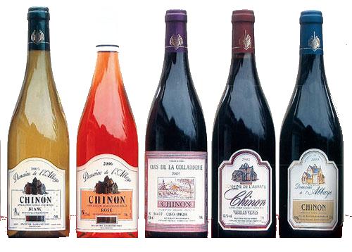 cavemonplaisir et les bouteilles du domaine de l'abbaye de chinon