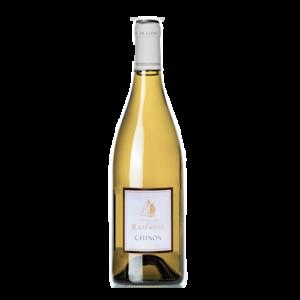 bouteille de vin du domaine du Raifaut en chinon blanc