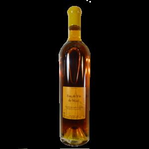 bouteille d'eau de vie de Marc du domaine du Raifault à la cave Monplaisir de Chinon